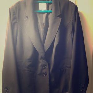 Womens plus size suit jacket